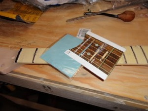 These items are used to polish the top of the frets.
